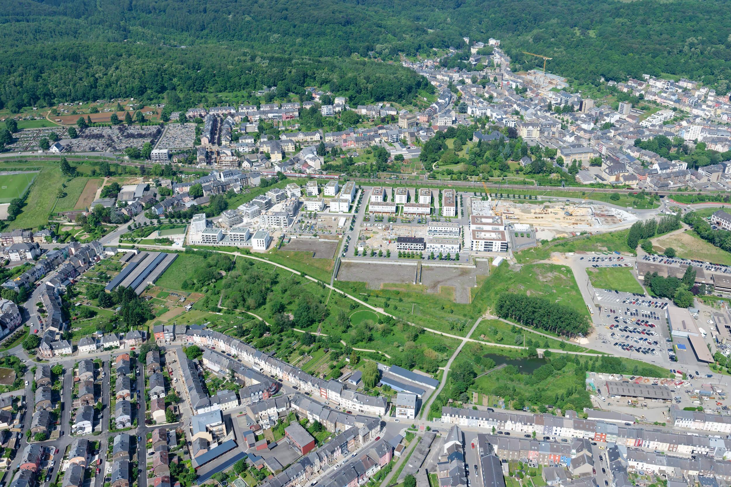Luftbild Parc de la Chiers
