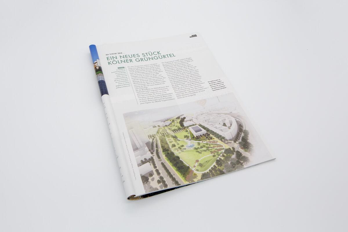 Garten + Landschaft Parkstadt sued Teilbereich Eifelwall