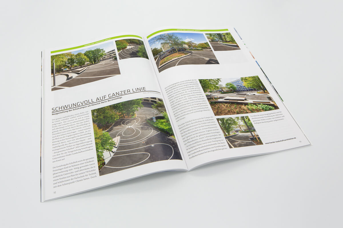 Cube Magazin Düsseldorf Heinrich-Hertz-Berufskolleg