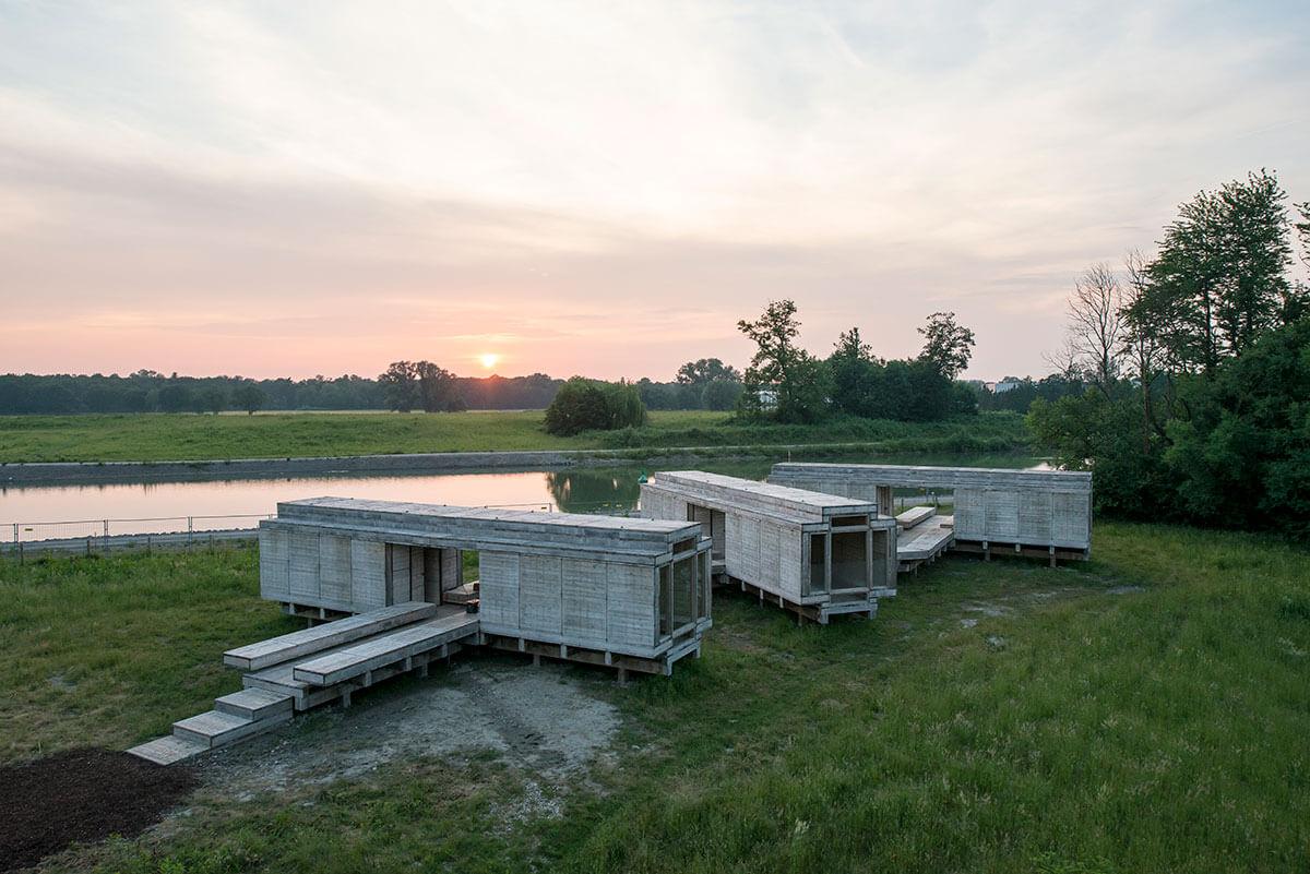 Warten auf den Fluss emscherkunst 2010