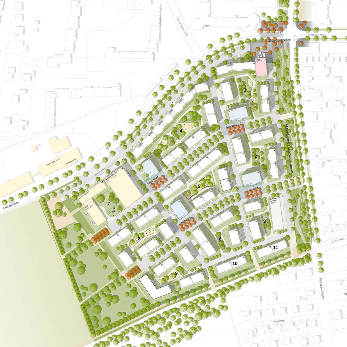 Buckower Felder Rahmenplan