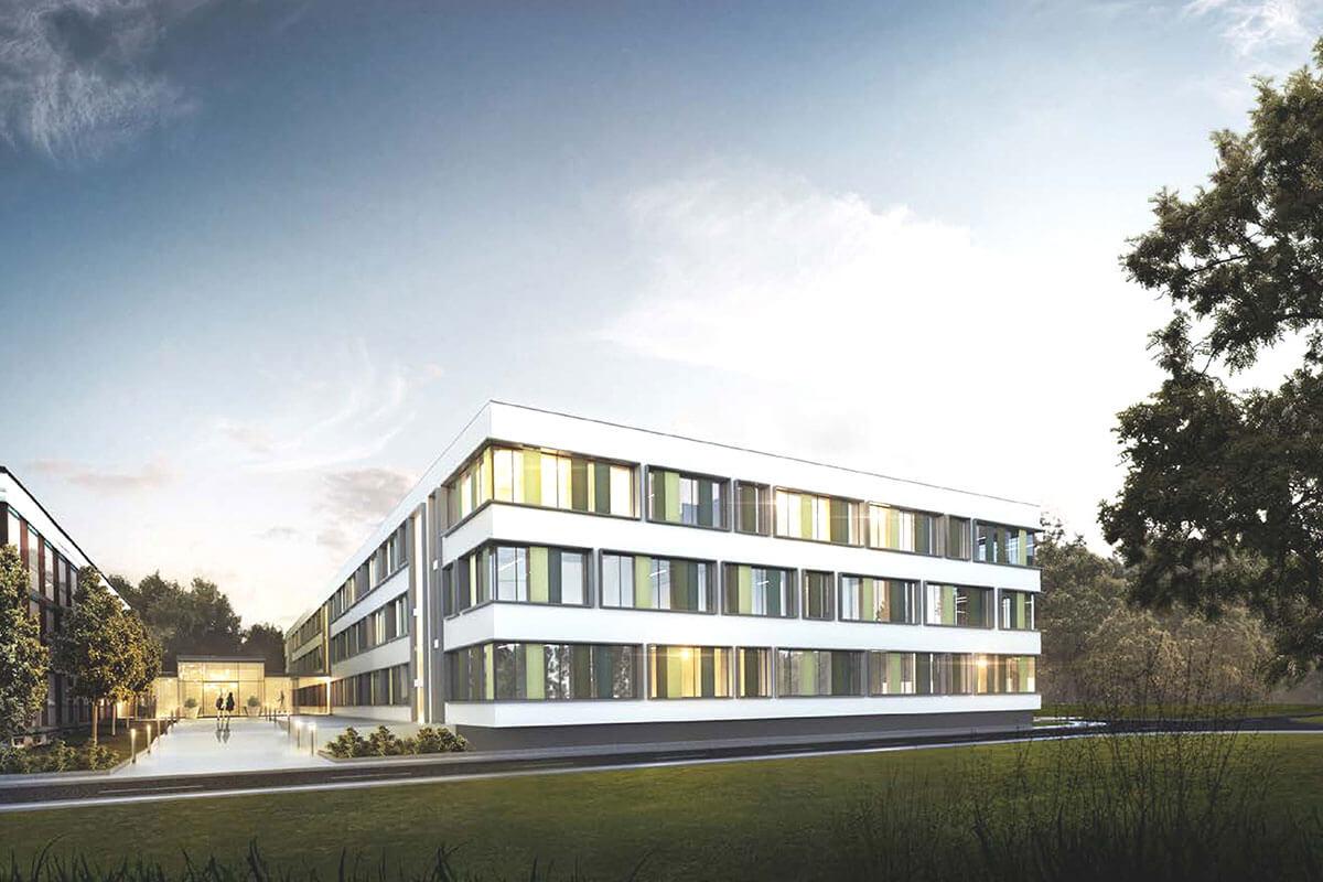 Visualisierung LVR Klinik Langenfeld