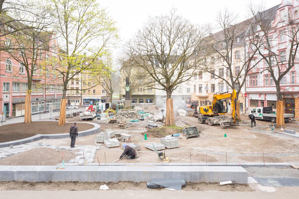 Baustelle Bodelschwinghplatz