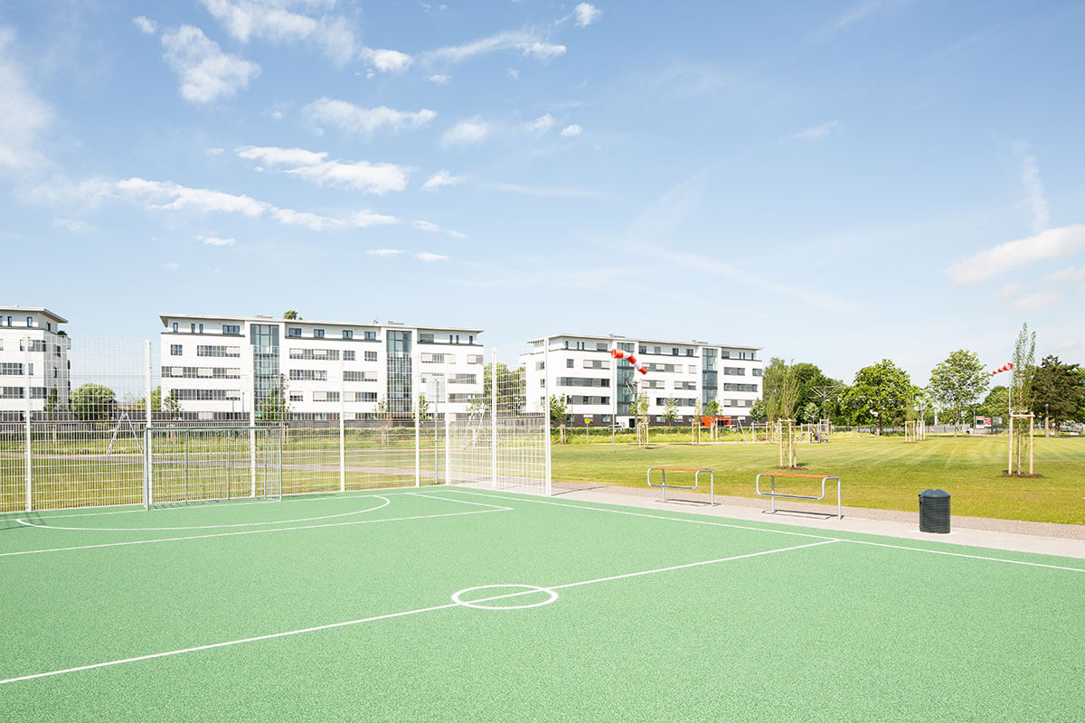 Parkanlage Butzweilerhof Multifunktionsfeld