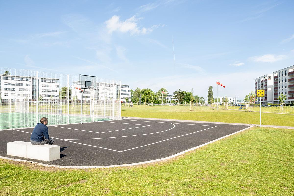 Parkanlage Butzweilerhof Streetballfeld