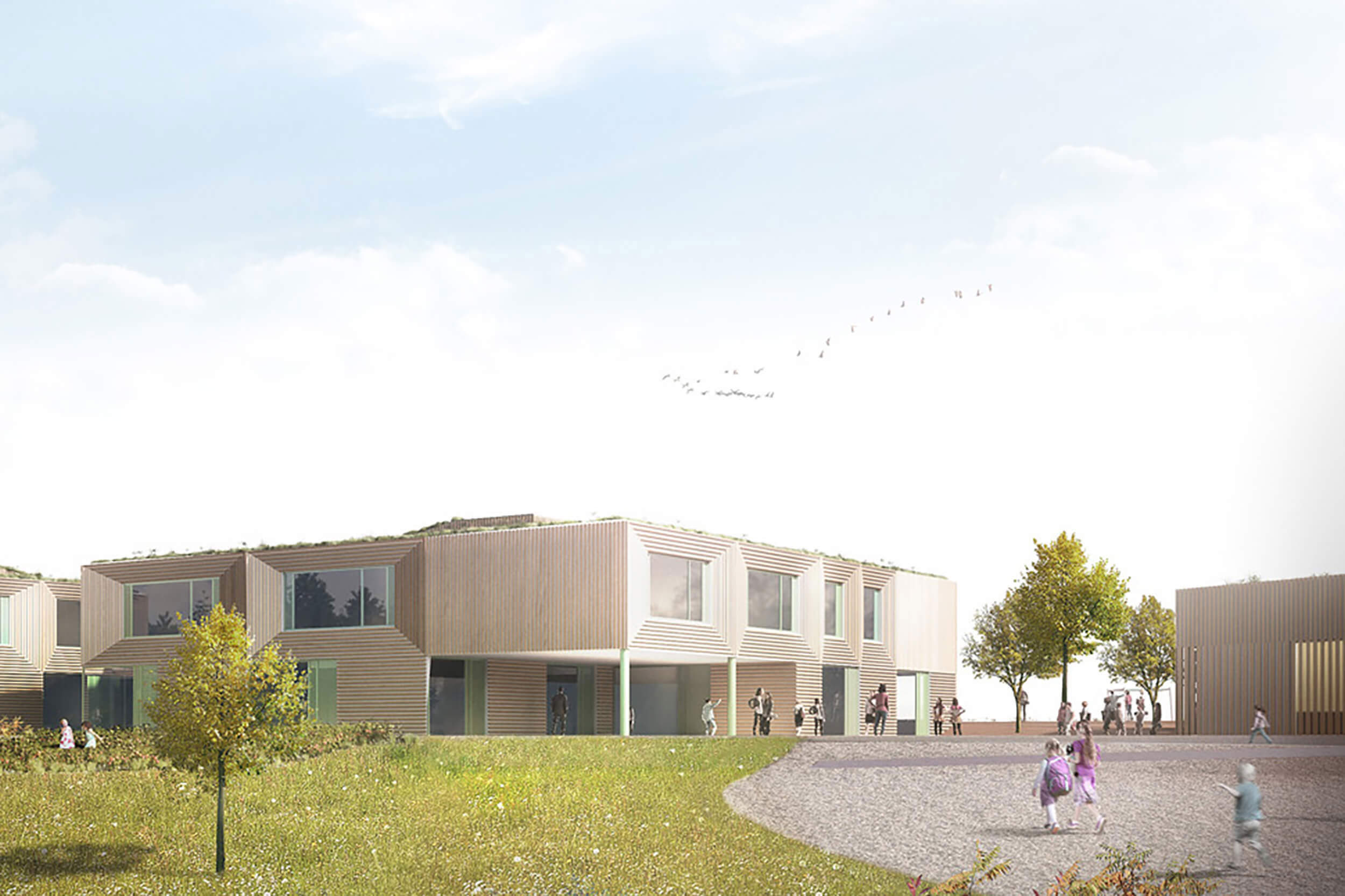 Campus Scolaire Et Sportif Visualisierung