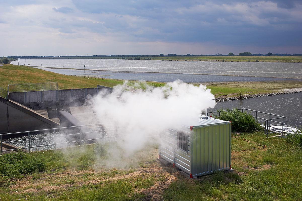 Fluss wird Wolke - Emscherkunst 2013