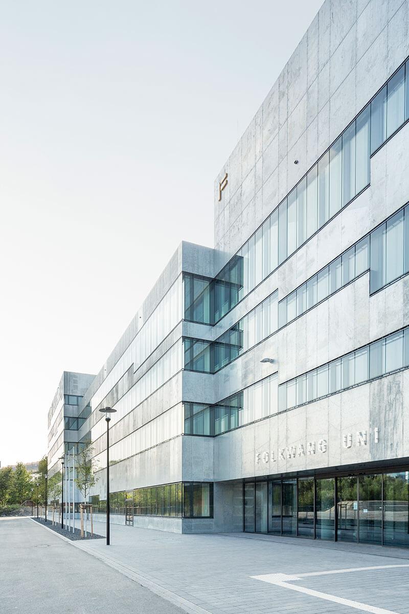 Freianlagen Folkwang Universität der Künste © Förder Landschaftsarchitekten/Johannes Zell