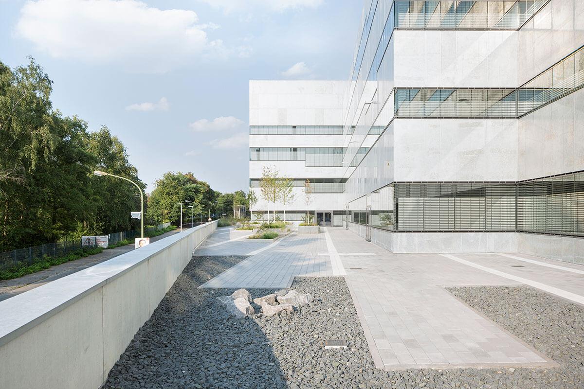 Freianlagen Folkwang Universität der Künste