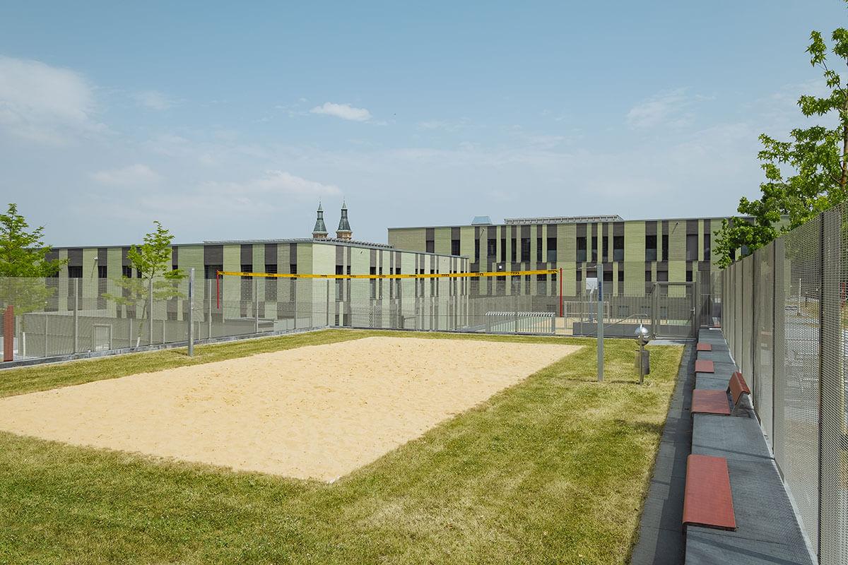 Freianlagen Forensische Klinik Regensburg
