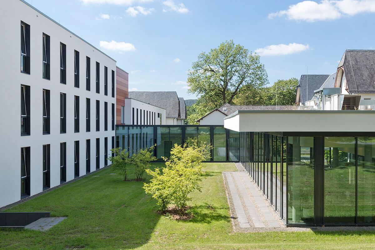 Freianlagen Vitos Klinik Marburg