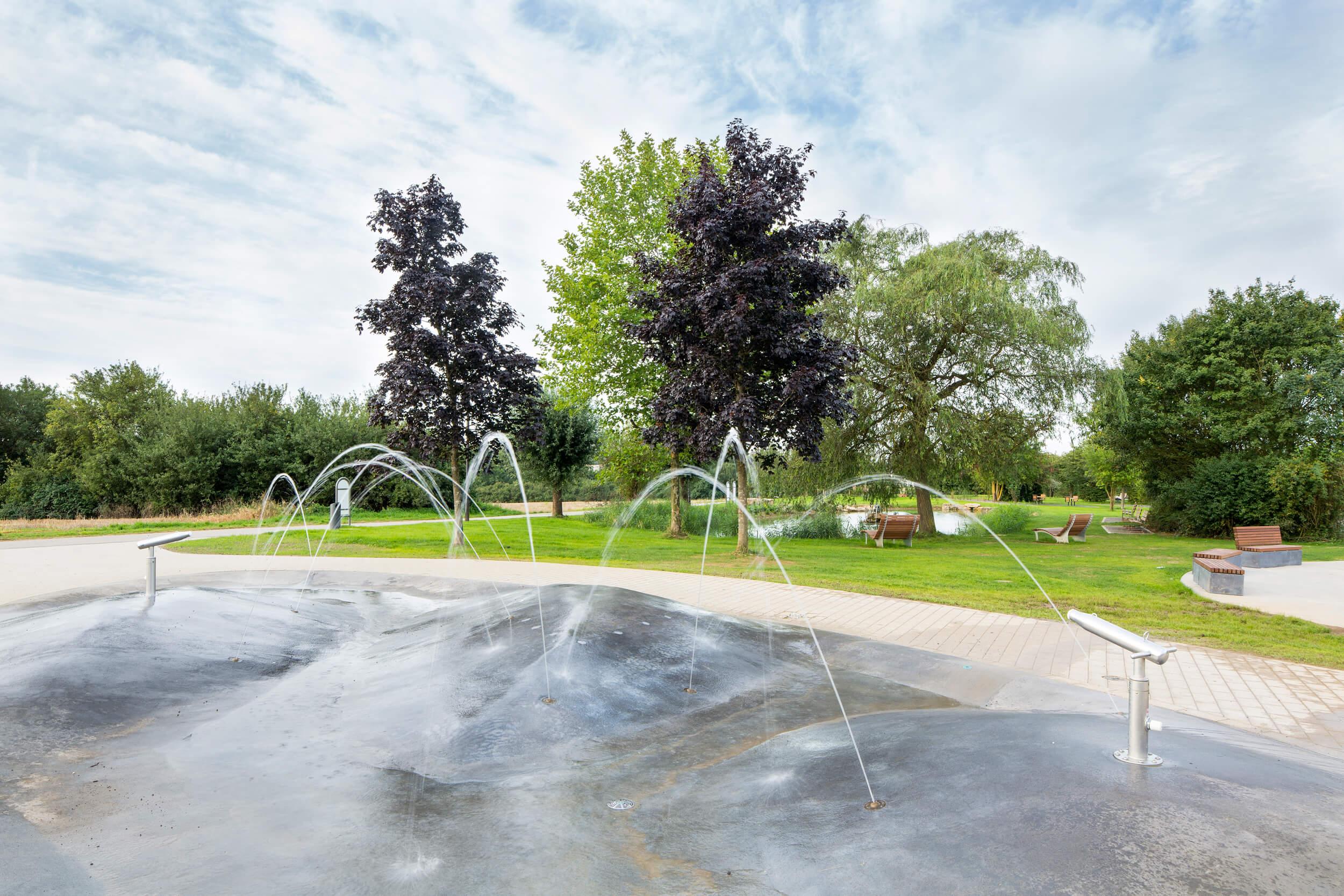 Parc Kaltreis Wasserspiel
