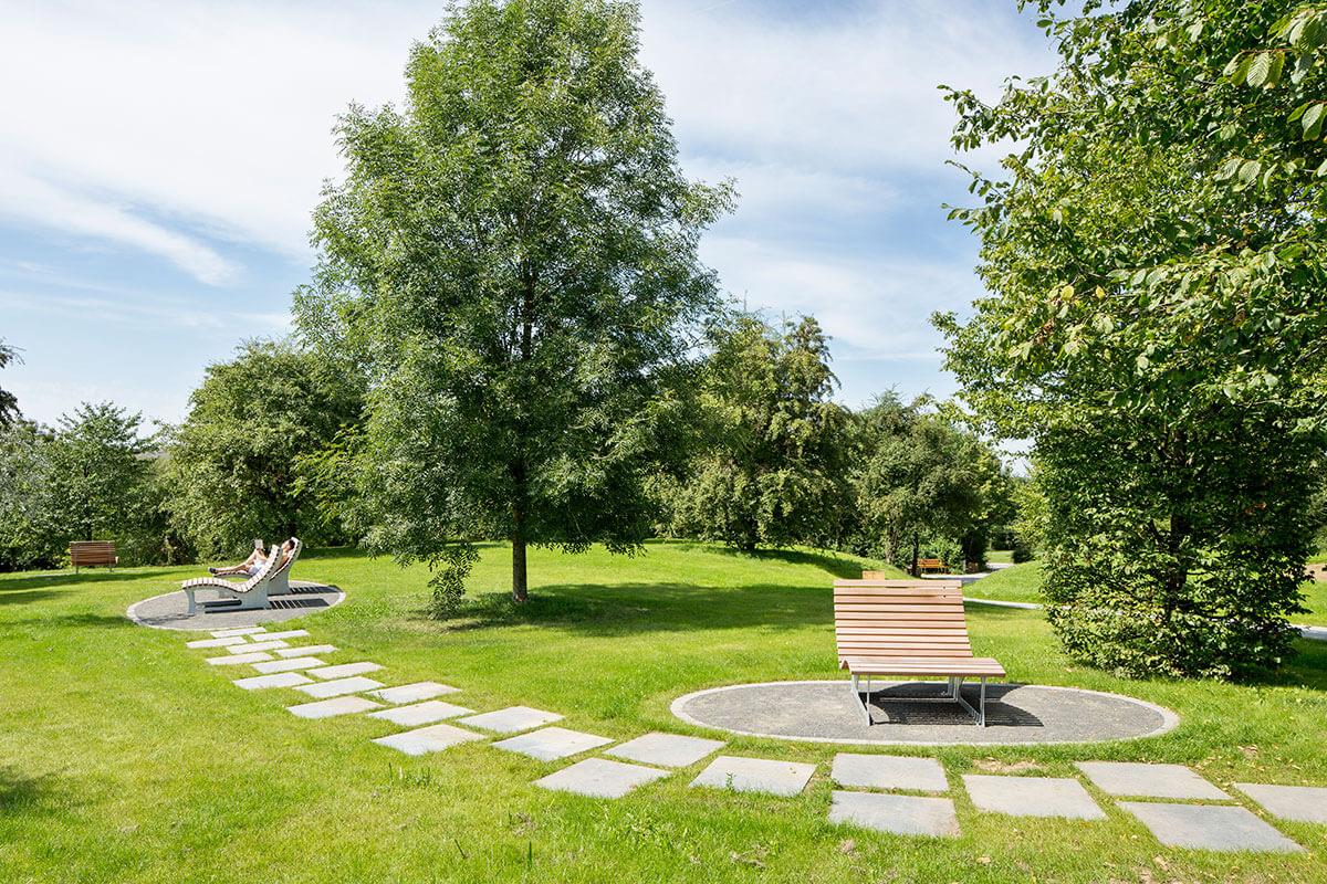 Landschaftliche Bereiche im Parc-Kaltreis