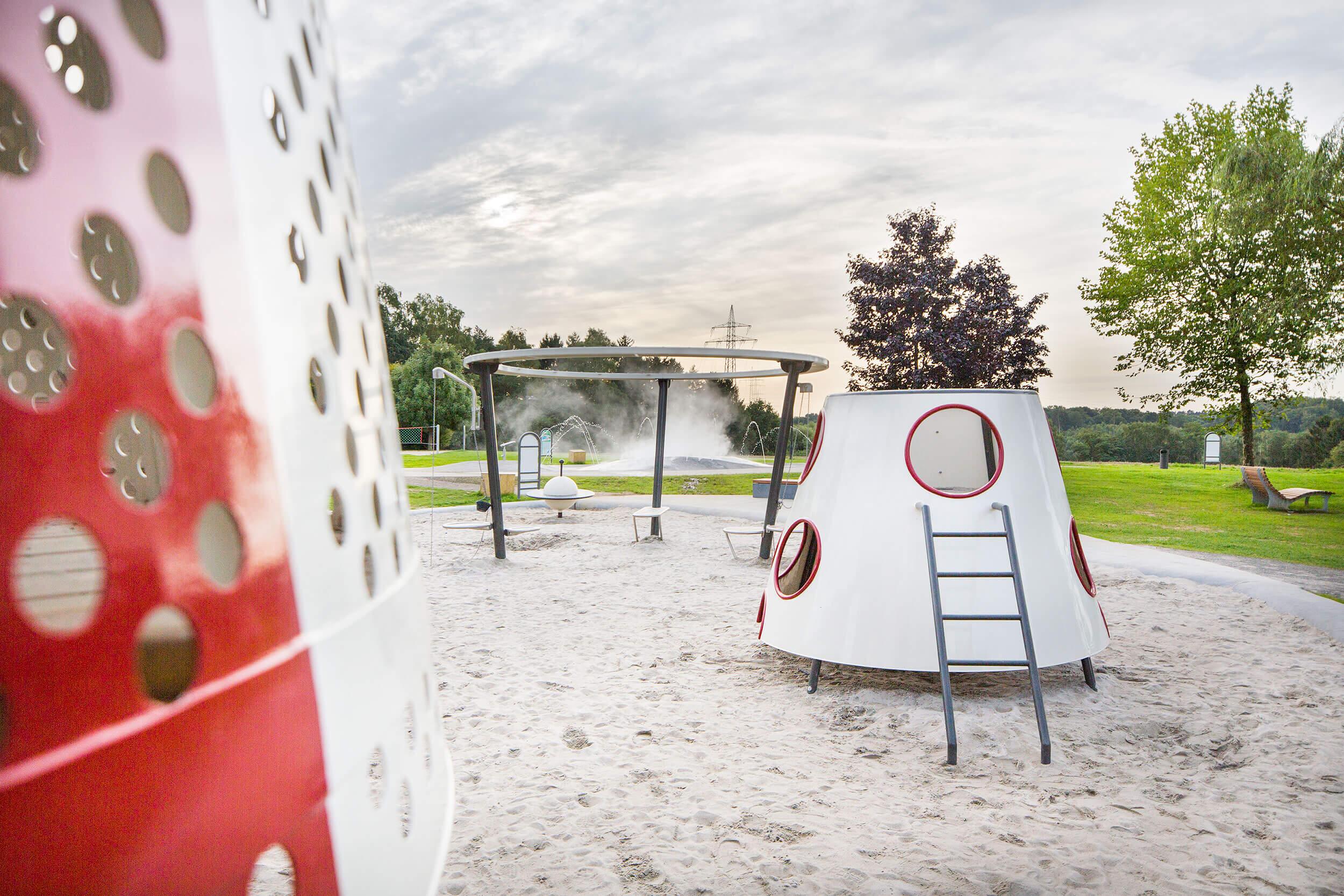 Weltraumspielplatz Parc-Kaltreis