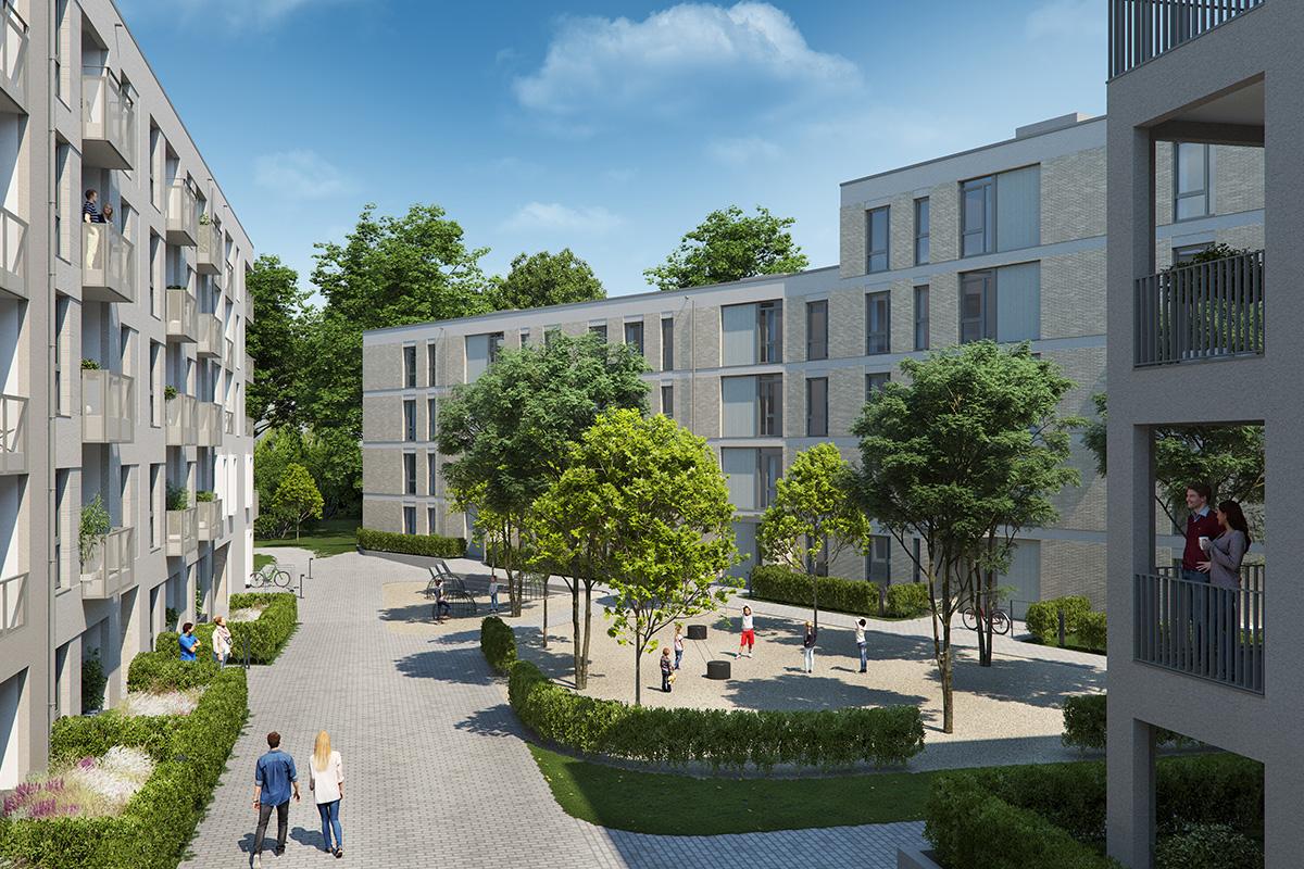 Wohnquartier Herler Strasse
