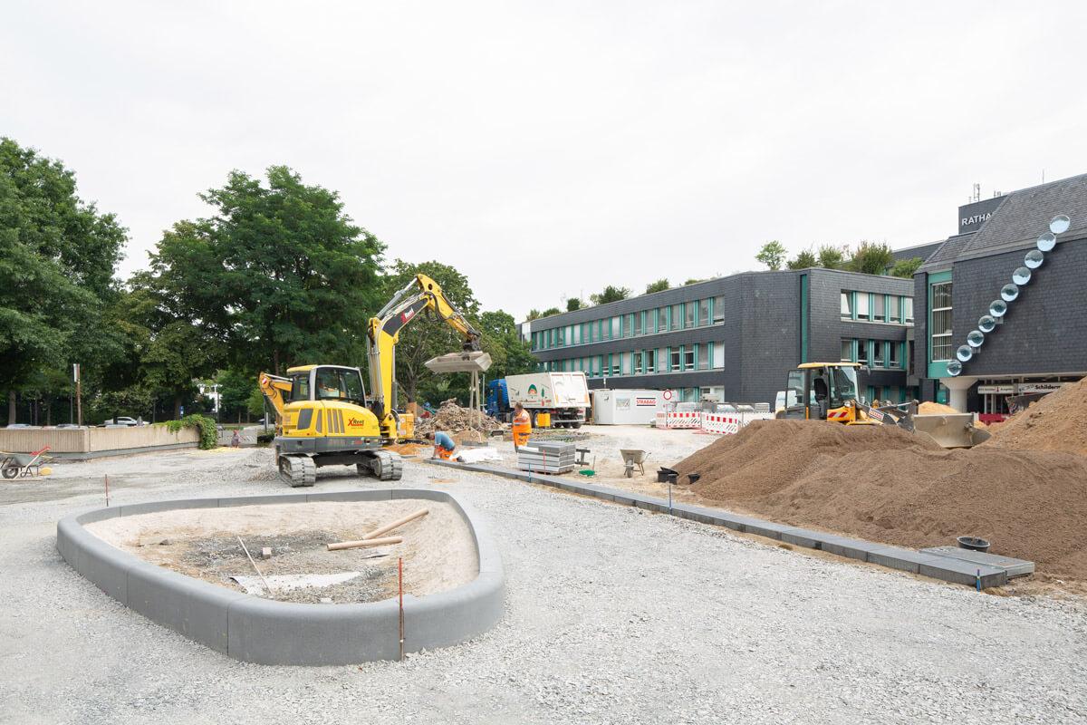 Baustelle Konrad-Adenauer-Platz