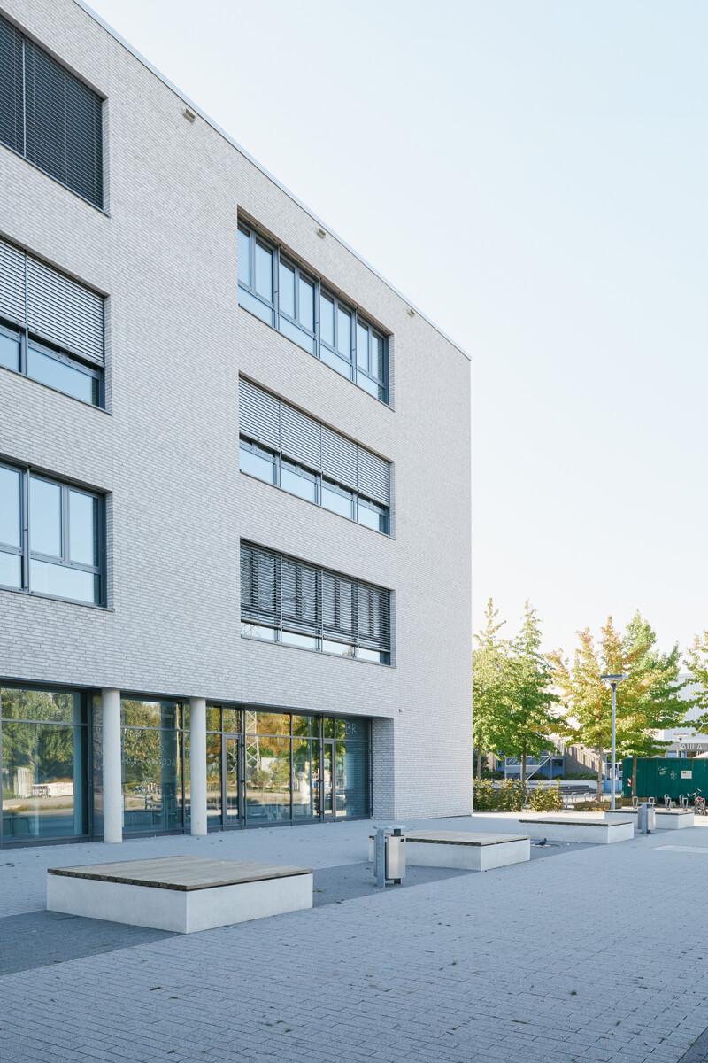 Außenanlagen Schulzentrum Berliner Ring