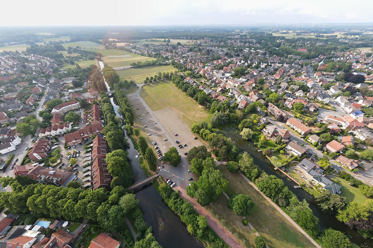 Warendorf Luftbild